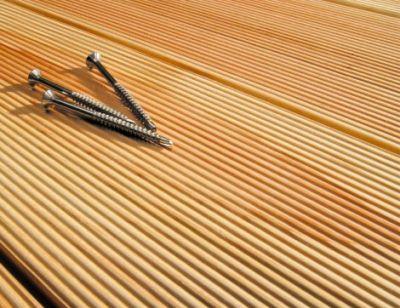 Декинг 90 мм от първокласна иглолистна дървесина