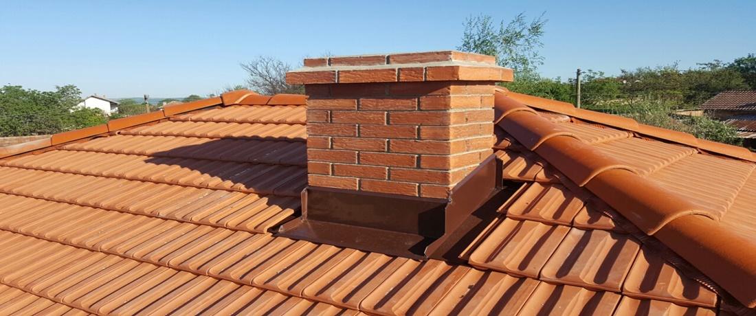 професионално изграждане на покриви обшивка на комини