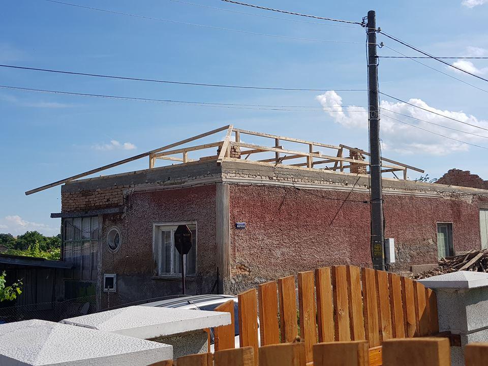 изграждане на покривна конструкция 2