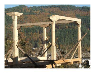 Дървени конзоли - капители