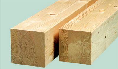 Дървена греда 6x8x3